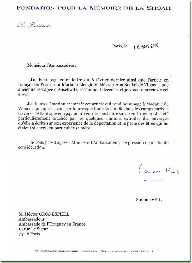 ejemplo de una carta formal